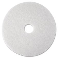 """Super polish pad,removes scuff/black heel,16"""",5/ct,white, sold as 1 carton, 5 each per carton"""