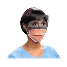 Unimed Orange Pleat-style Mask
