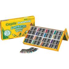 Crayola Construction Paper Crayon Set