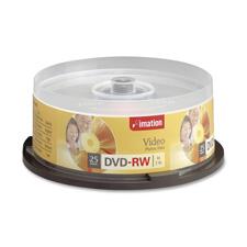 Imation High Speed DVD-RW Discs
