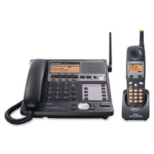 Panasonic 4-Line 5.8GHz Multi-Handset Crdlss Phone