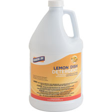Genuine Joe Lemon Scent 1gal Dishwashing Detergent