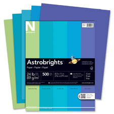 Wausau Astrobrights Cool Assortment Cover Paper