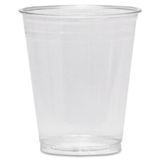 Cold drink cups, 10 oz., 25/pk, clear plastic, sold as 1 package, 20 package per package