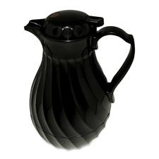 Hormel Black Swirl Insulated Plastic Carafe