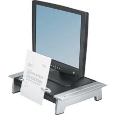 Fellowes Standard Monitor Riser w/Copy Holder