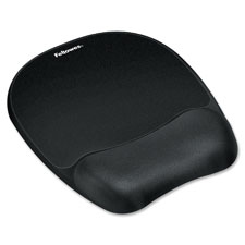 Fellowes Memory Foam Nonskid Wrist/Mouse Pad