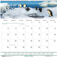 Doolittle Wildlife Wall Calendar