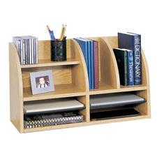 Safco 8-Compartment Desktop Organizers