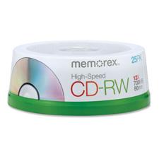 Memorex High Speed CD-RW Discs