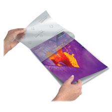 Fellowes Self-Adhesive Clear Pouch Laminating Film