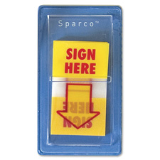 Sparco 1 Sign Here Flag