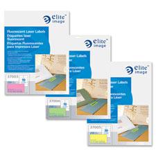 Elite Image Attn Grabbing Fluorescent Laser Labels