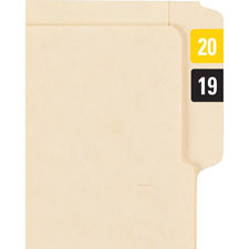Smead Self-adhesive Color-coded Year Labels