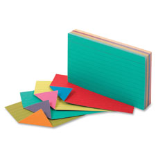 Esselte Extreme Colors Index Cards