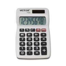 Victor Large Punctuated LCD 8-digit Calculator