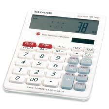 Sharp Brain Exerciser Calculator
