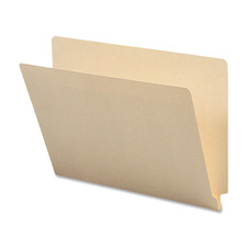 Sparco 1-Ply Straight End Tab Manila Folders