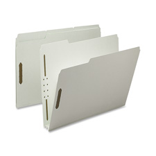 Nature Saver 1/3 Cut Pressboard Fastener Folders
