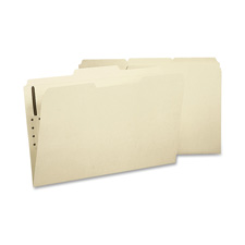 Sparco 1/3 Cut 2-ply Legal Size Fastener Folders
