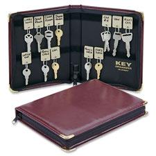 MMF Industries 48-Key Portable Zippered Key Case