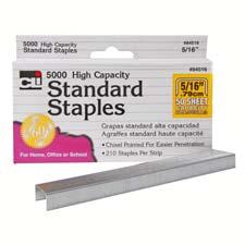 Charles Leonard Standard Chisel Point Staples