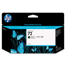 HP 72 Cyan Ink Cartridge - Inkjet - Cyan