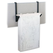 Safco Drop/Lift Cubicle Wall Rack