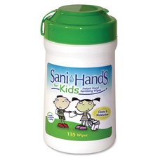 Unimed Sani-Hands Kids Gel Wipes