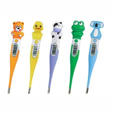 Mabis Children's Zoo Animal Thermometers