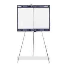 "Portable presentation easel, strap, 31-3/8""x4""x19-3/4"",gray, sold as 1 each"