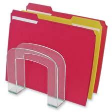 Deflect-O Glasstique Large Desktop Sorter