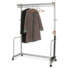 Alba Two-Shelf Coat Rack
