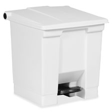 Rubbermaid Step-on Waste Containers