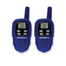 Motorola Pair of 2-Way Radios w/up to 5 Mile Range