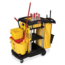 Rubbermaid High-Capacity Cleaning Cart