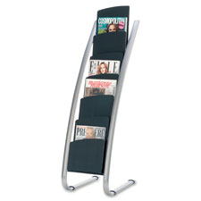 Alba 6-Pocket Literature Display Stand