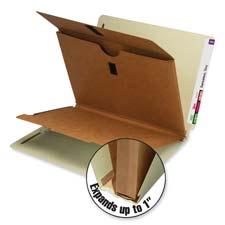 Smead End Tab Classification Folders w/Wallet