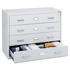 Safco Multimedia Disk Data Cabinet