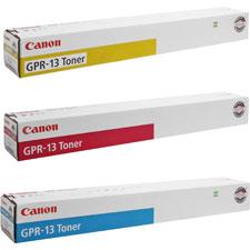 Canon GPR13/C/M/Y Toner Cartridges