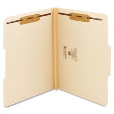 Smead 2-ply 14pt. Manila Fastener Folders