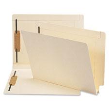 Smead 2-ply Tab Manila Expansion Fastener Folder