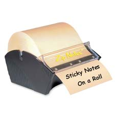 Zip Notes Manually Operated Note Dispenser