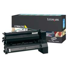 Lexmark Return Program Yellow Toner Cartridge - Laser - 6000 Page - Yellow