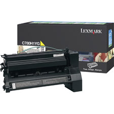 Lexmark Return Program High Yield Black Toner Cartridge - Laser - 10000 Page - Black