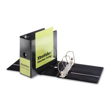 Cardinal Xtravalue Clearview D-ring Binders