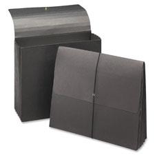 Smead Black Expanding Width File Folder Wallet