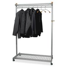 Alba Practical Chrome Coat Rack