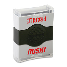 Cosco Self-inking Dual Message Stamp