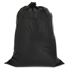 "Heavy-duty trash bags,2.5 mil,42 gallon,33""x48"",20/pk,black, sold as 1 box"